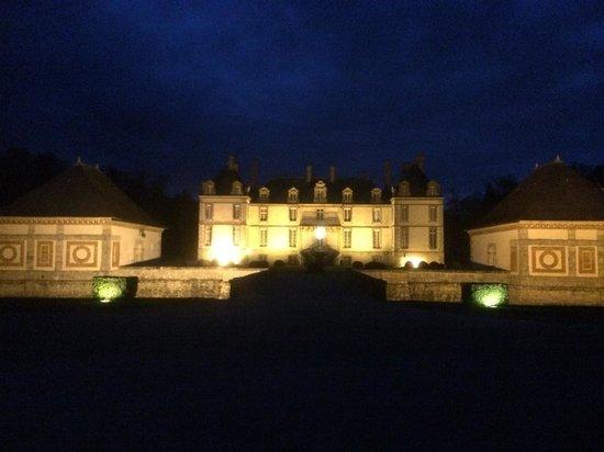 Château de Bourron : Night