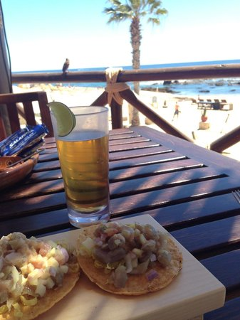 Grand Fiesta Americana Los Cabos All Inclusive Golf & Spa: tostadas de atún en la cevichería