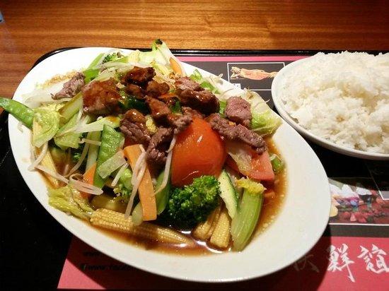 Mister Wong: Beef Chop Suey