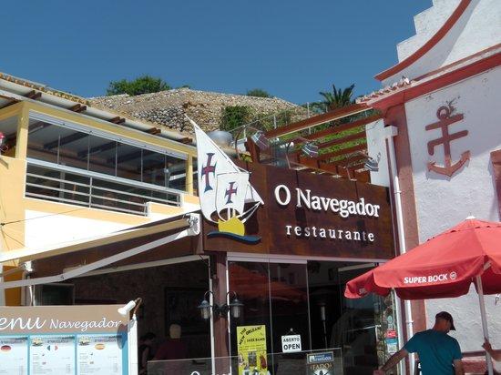Restaurante Navegador: Front of restaurant