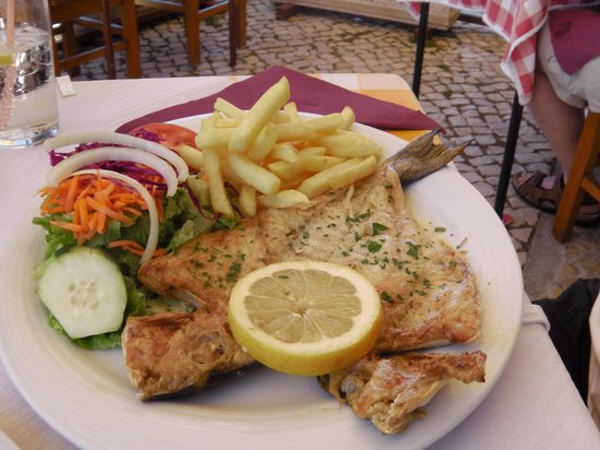 Restaurante Navegador: Golder sea bream