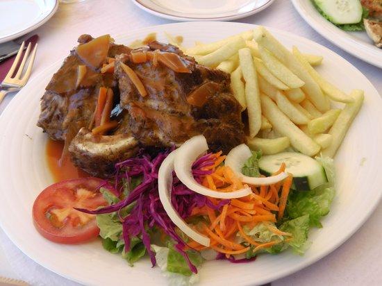 Restaurante Navegador: Spare ribs in Jack Daniels sauce