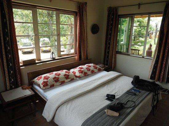 Nkuringo Bwindi Gorilla Lodge: La première chambre de la rangée