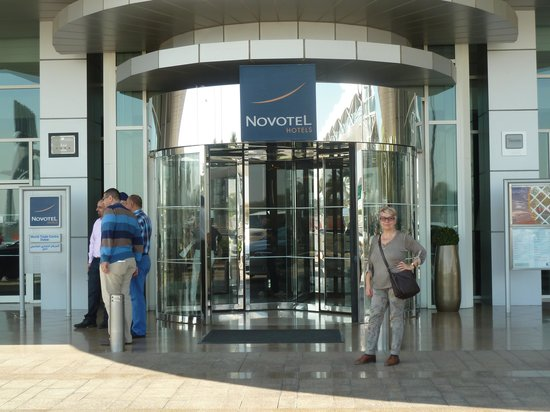 Novotel World Trade Centre Dubai : ingresso