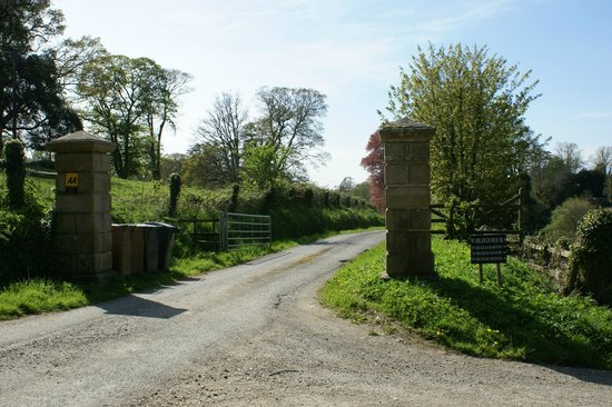 Entrance To The Driveway Picture Of Warleigh House