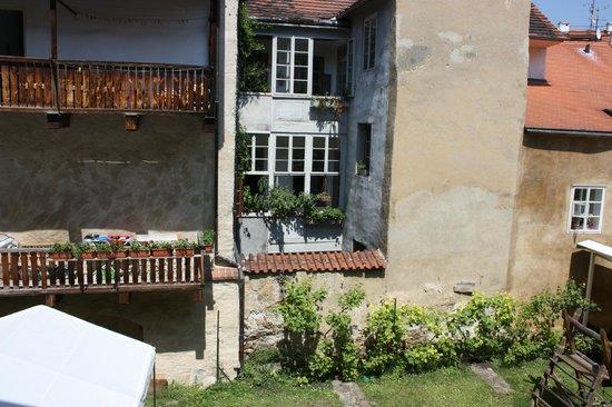 Residence Muzeum Vltavinu: Вид из окна