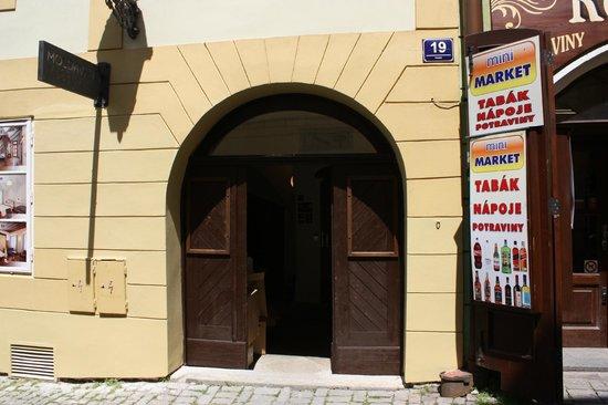 Residence Muzeum Vltavinu : Вход в здание