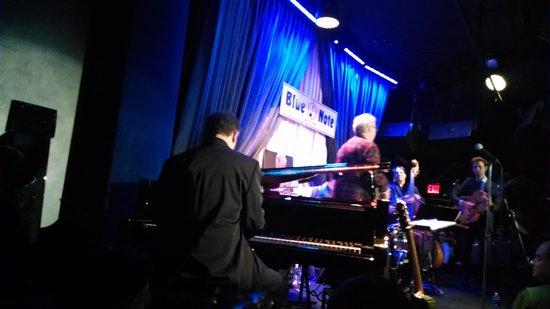 Blue Note Jazz Club: Palco do Blue Note