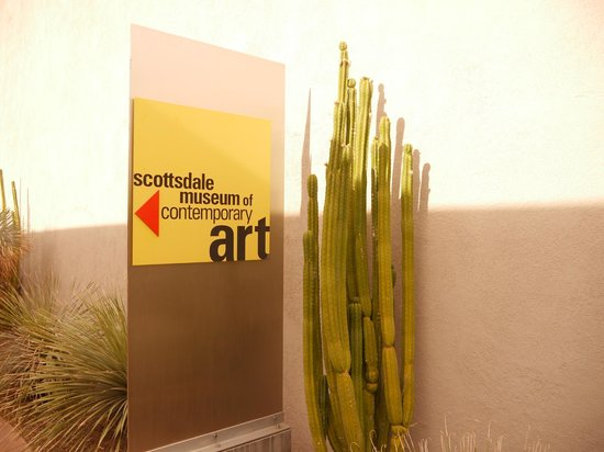 Saguaro Scottsdale: Scottsdale Museum of Contemporary Art is right nearby