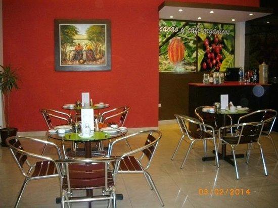 Hospedaje Dimar Inn: PLATOS TIPICOS, PISCO Y CAFE PERUANOS