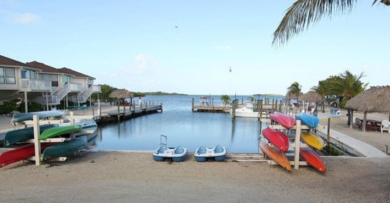 The Reef at Marathon: Kayaks and canoes for guests use!