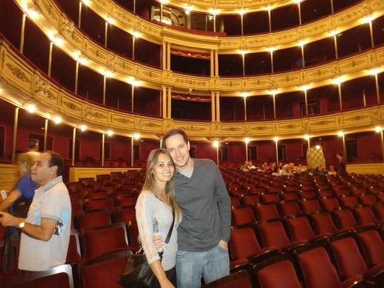 Interior do Teatro Solis