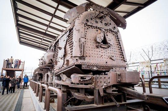 DMZ : trem de epoca