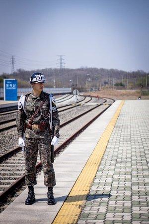 DMZ : estacao que ligaria a capital norte coreana com a coreia do sul