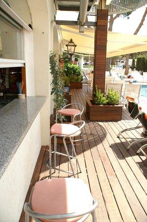 ALEGRIA Fenals Mar: Terraza Bar