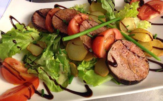 Creperie du Marche: Salade bretonne ! Trop bon !