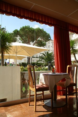 Hotel Savoy Lloret de Mar: Vista del jardin