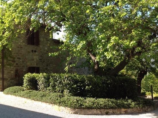Villa di Monte Solare: una delle unita' abitative