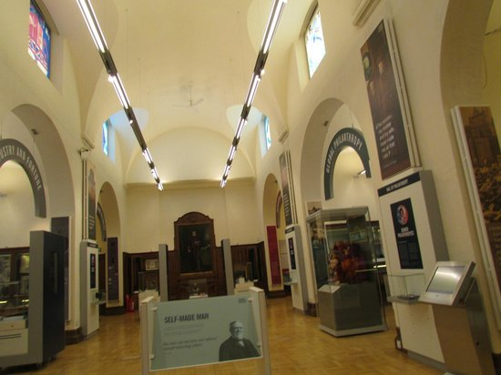 Andrew Carnegie Birthplace Museum: The Modern side.