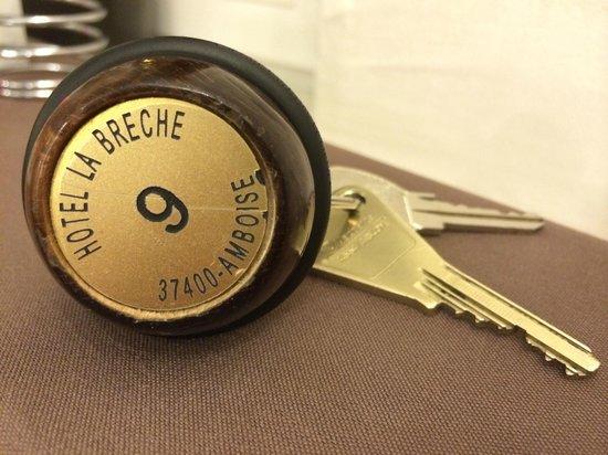 Logis La Brèche : Charming old keys