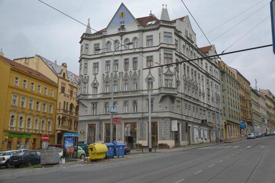 Czech Inn: From tram stop