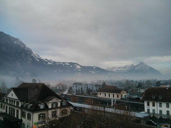 MyHotel Merkur: View from breakfast hall