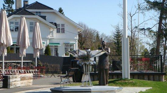 Musée du ski de Holmenkollbakken : Fiamma olimpica
