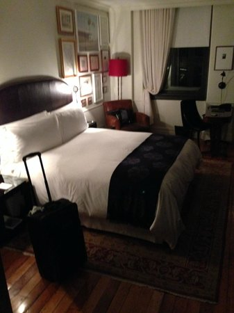 The NoMad Hotel: Very comfortable bed.