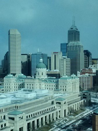 JW Marriott Indianapolis: View from our room