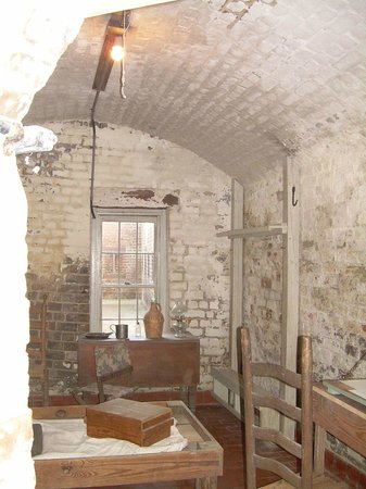 Old Fort Jackson: Room dispaly