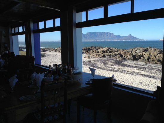 Sonskyn: Table Mountain, Table Bay and a beautiful day