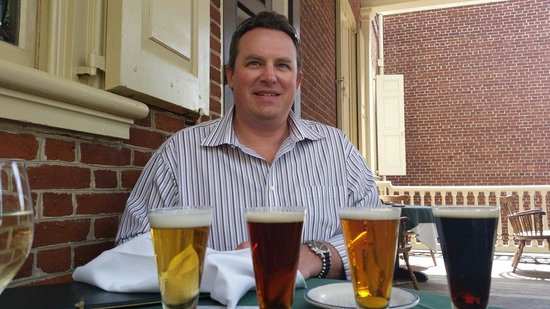 City Tavern: Yummy beer.