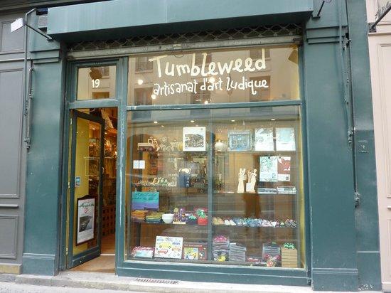Tumbleweed: Shop front