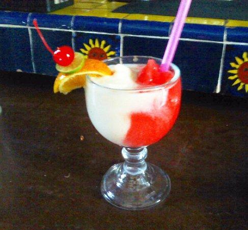 Margaritas Restaurant Bar & Grill: miami vice