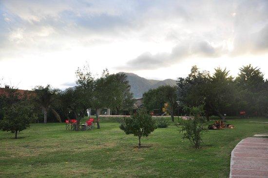 La Guarida Hotel: jardin