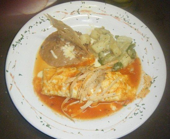 Margaritas Restaurant Bar & Grill: desayunito ,, omelette de camaron