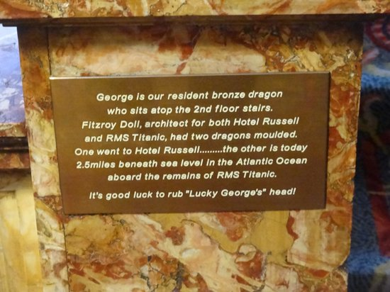 Hotel Russell: Dragon's Caption