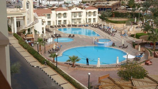 Helnan Marina Sharm: The view from the 5th floor