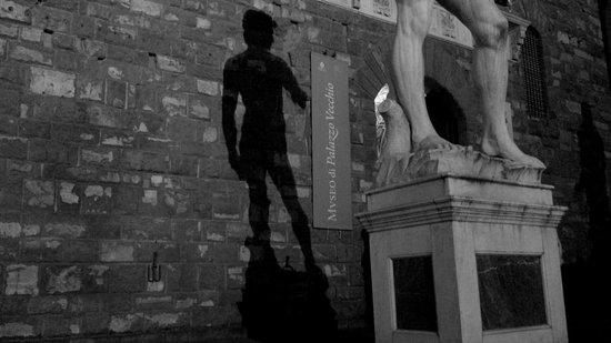 Galería de la Academia: Un'ombra molto riconoscibile