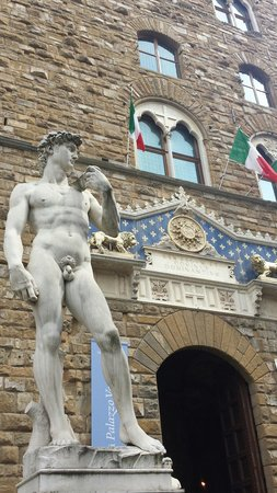 Galería de la Academia: Stupenda scultura Made in Italy