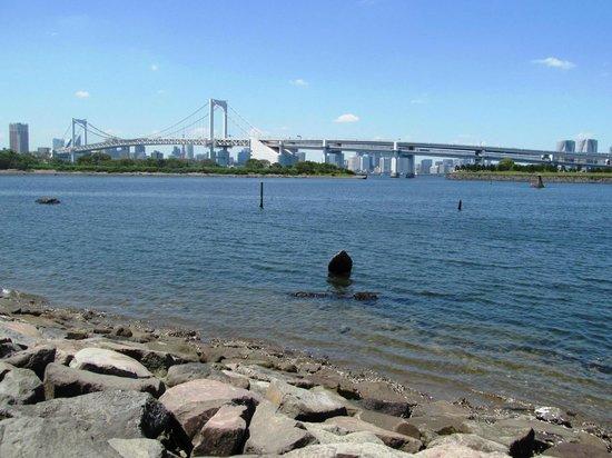 Odaiba Kaihin Koen (Odaiba Seaside Park) : ...