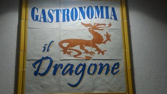 Il Dragone : La targa del Dragone
