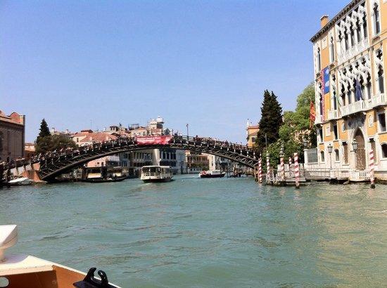 Ponte dell'Accademia : Gita sul Canal Grande, Pierangelo e Anna Maria 26 aprile 2015