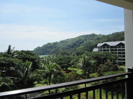 Shangri-La's Rasa Ria Resort & Spa: view from the balcony