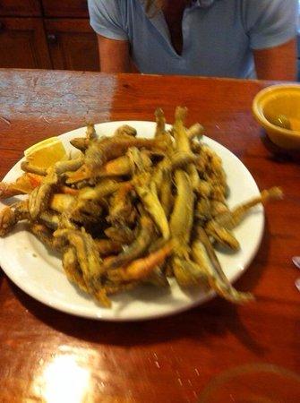 Aitana : Delicioso pescadito frito...