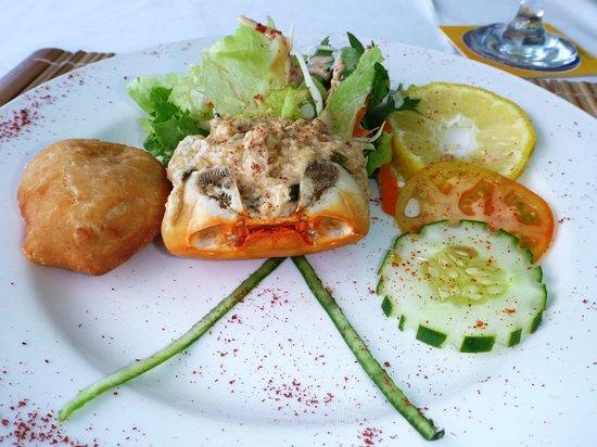 BB's Crabback: Delicious crab entrée!