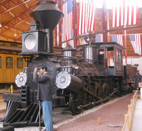 Baltimore and Ohio Railroad Museum: Part of the Civil War exhibition