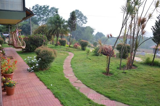 Swastha Homestay: the view from villa