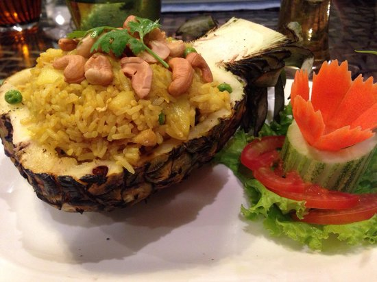 Mazzaro Boutique and Restaurant : Rice with pineapple