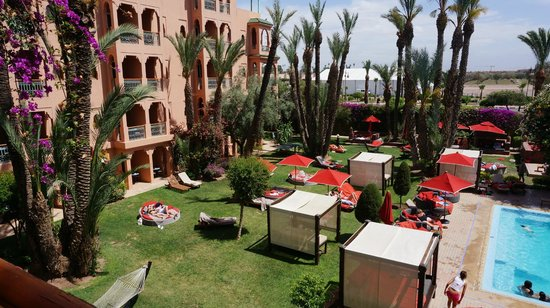 Sofitel Marrakech Lounge and Spa: view from the balcony